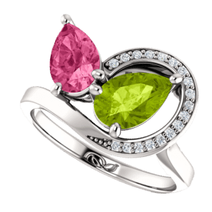 Valeria Custom Jewelry | Sculptural Watermelon Ring