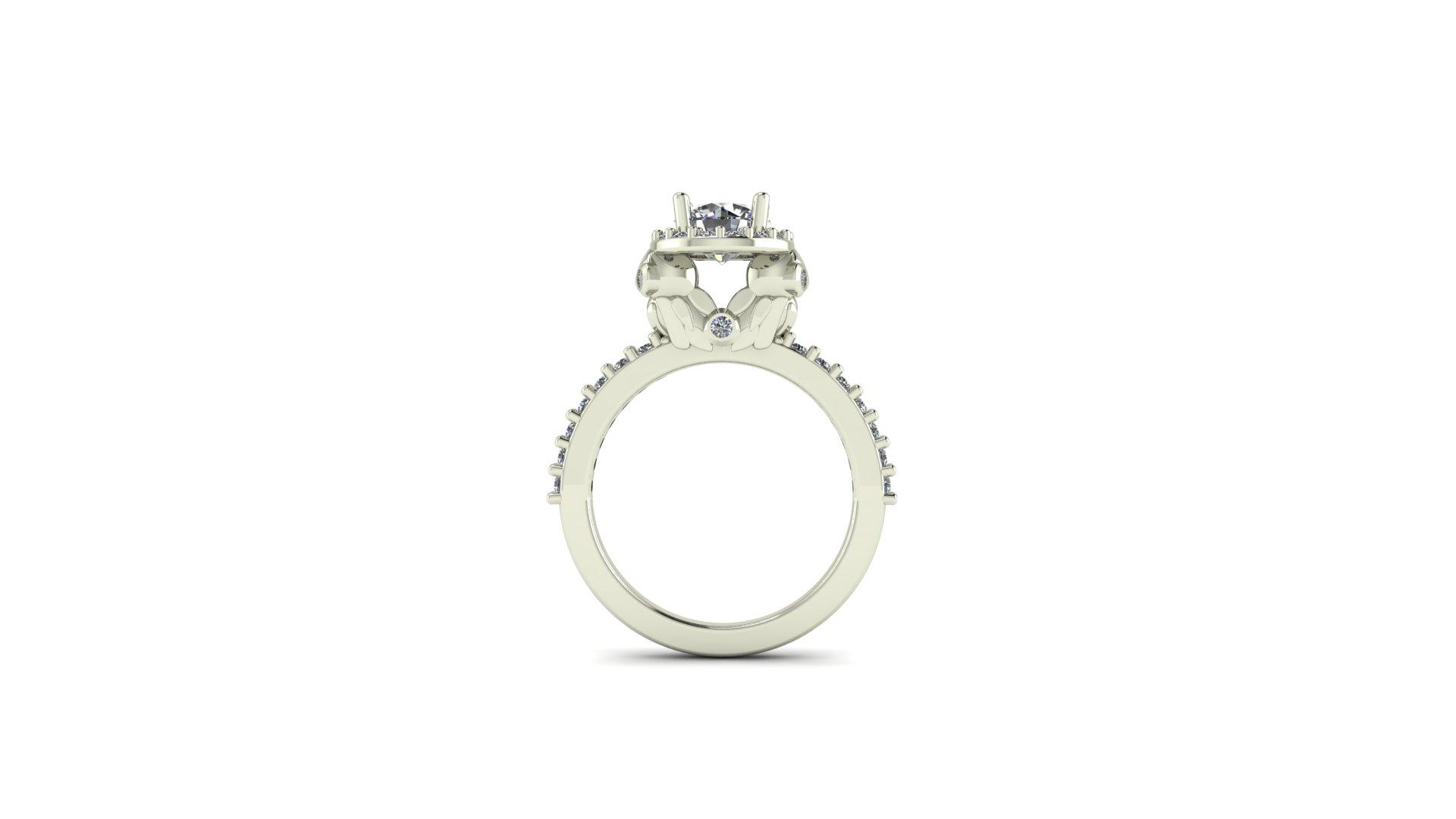 Harry Potter Inspired Owl Engagement Ring
