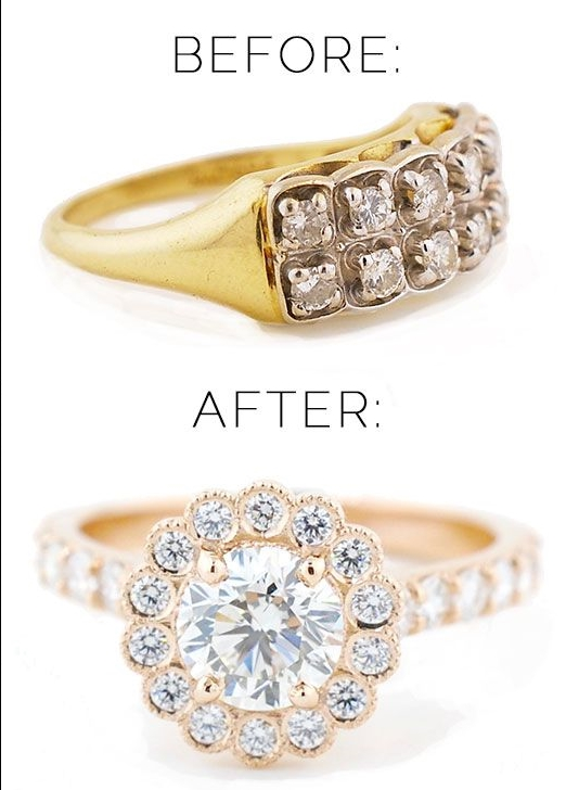 Recycled Custom Jewelry