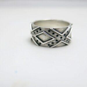 Confederate Flag Wedding Ring