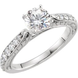 https://www.valeriacustomjewelry.com/product/accented-cathedral-engagement-ring/