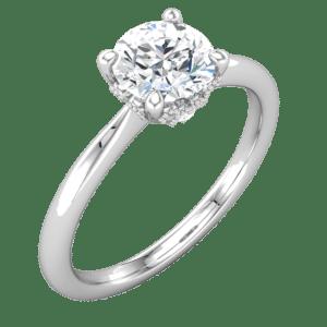 Unique Solitaire Engagement Rings