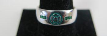 Green Lantern Wedding Ring