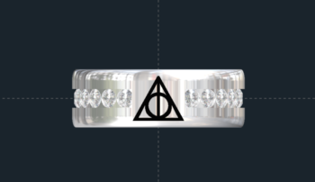 Harry Potter Wedding Ring