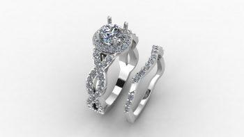 Forever One Moissanite Engagement Rings