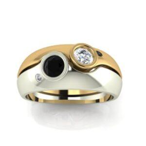 Bezel Set Diamond Rings