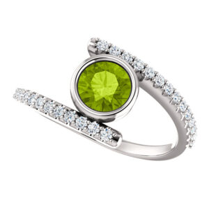 Bezel Set Diamond Rings