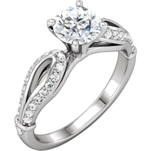 Cathedral Style Ring