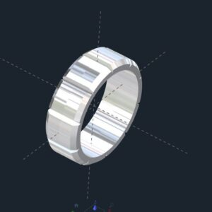 Custom Men's Wedding Bands