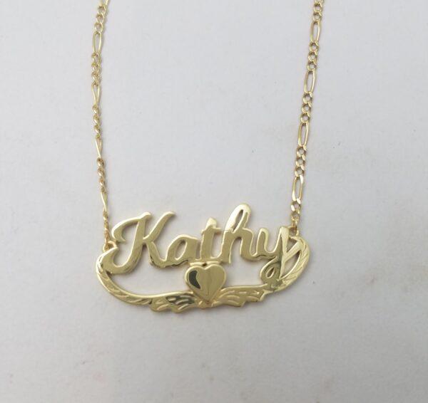 customized name pendants