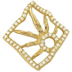 Setting Sun Diamond Necklace