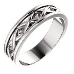 X Men's Wedding Ring