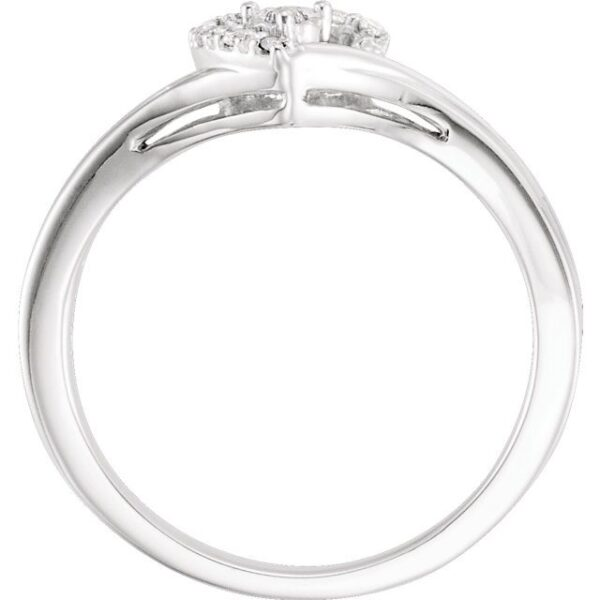 Diamond Heart Promise Ring