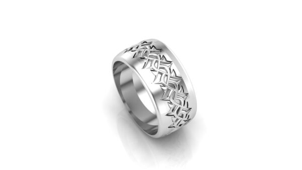 Silver Crown Of Thorns Ring