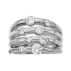 8 Stone Mothers Ring