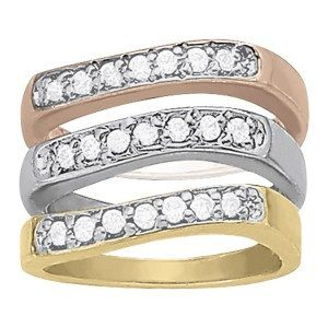 Accented Stackable Rings