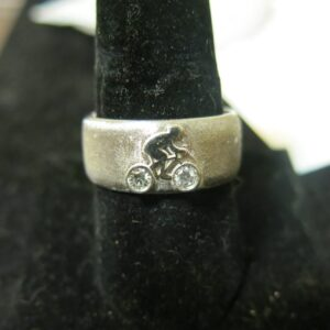 custom biker wedding rings