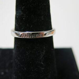 Custom Engraved Wedding Rings