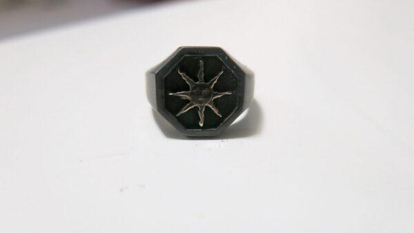 2 Tone Signet Ring