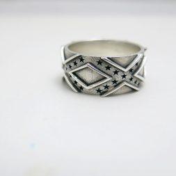 Rebel Flag Wedding Ring