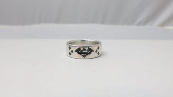 Batman vs Superman Wedding Ring