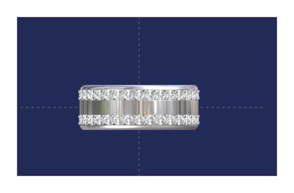 Modern Men's Wedding Rings