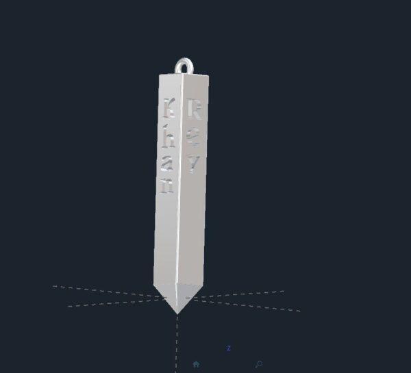 Obelisk Pendant