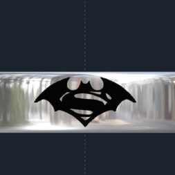 Superman Batman Wedding Ring
