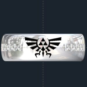 Zelda Triforce Wedding Ring