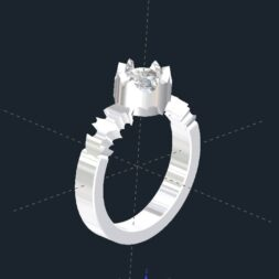 Batman Engagement Ring