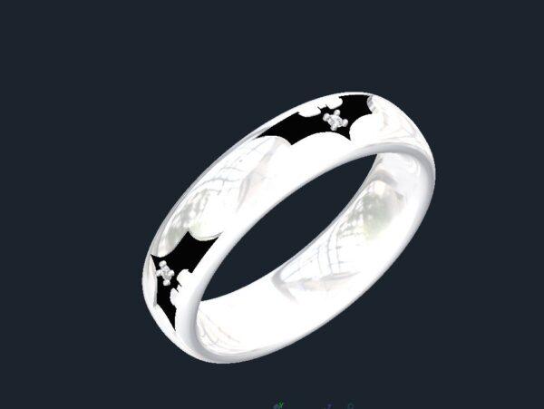 Gold Batman Ring