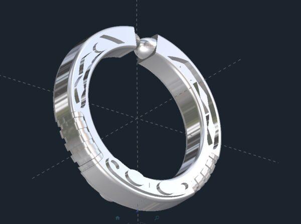 lightsaber wedding ring