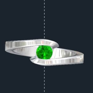 Tension Setting Engagement Rings