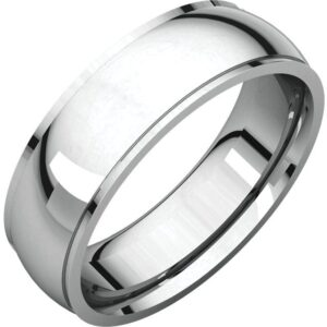 Edge Men's Wedding Ring
