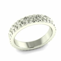 Art Deco Flower Rings