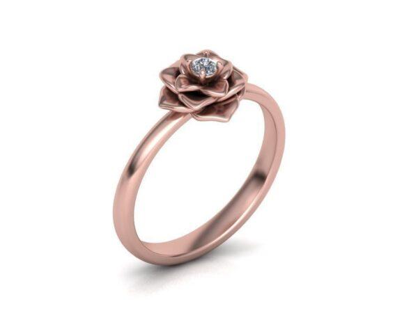 Rose Promise Ring