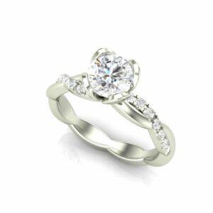 Tulip Engagement Ring