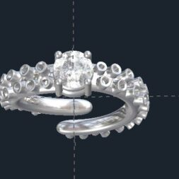 Octopus Engagement Ring