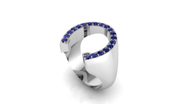 Custom Horseshoe Ring