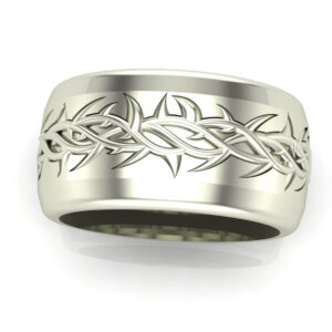 crown of thorns wedding ring