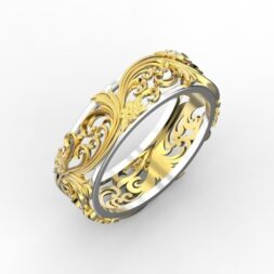 Floral Wedding Ring