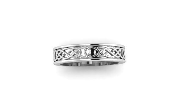 Celtic Weave Wedding Band
