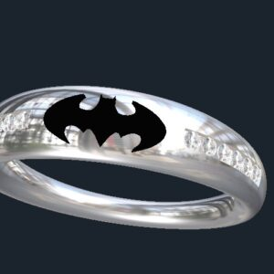 Tapered Batman Ring