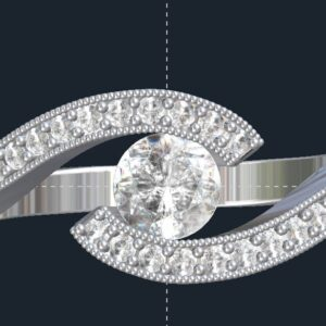 tension set bypass engagement ring