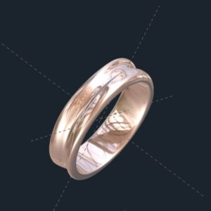 Unisex Wedding Rings