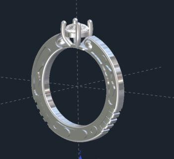 Custom Star Wars Engagement Rings