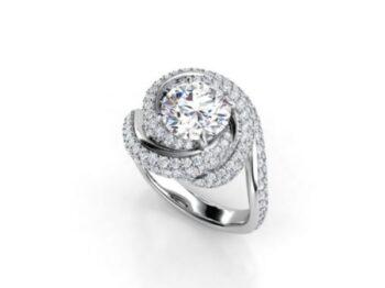Custom Engagement RingCustom Made Engagement Ring