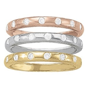 Custom Stackable Mothers Rings