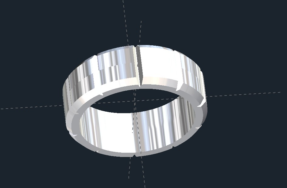 Notched Wedding Ring