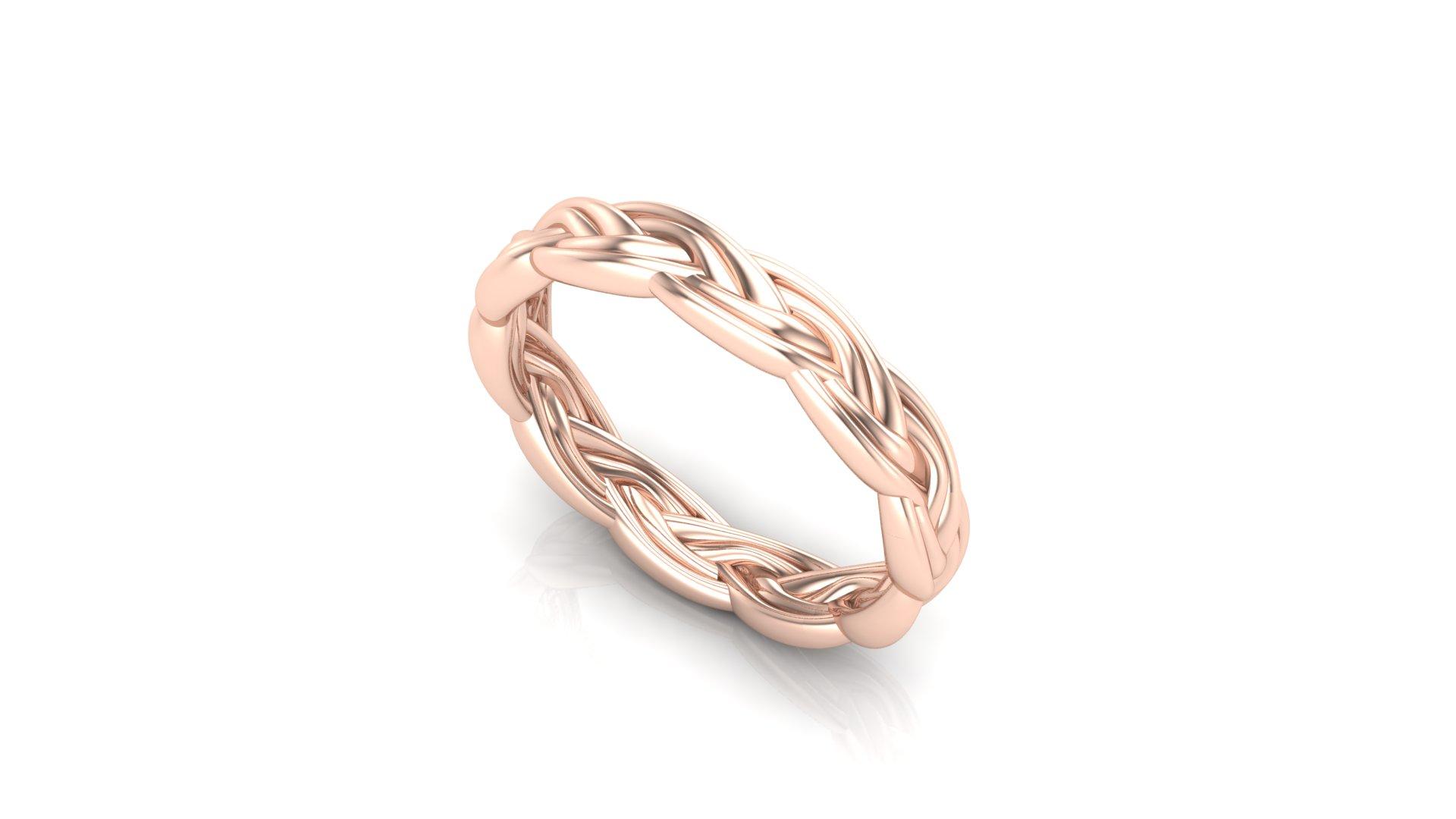 Rope Wedding Ring